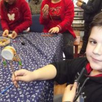 Esztári iskolások az Alkotóházban2