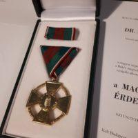 Dr. Illés Károly kitüntetés 2
