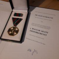 Dr. Illés Károly kitüntetés 3