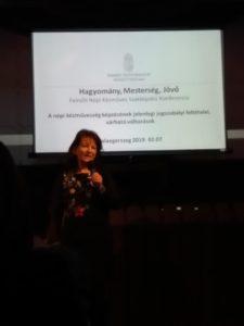 Hagyomány-Mesterség-Jövő Konferencia előadás