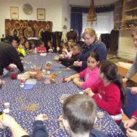 Esztári iskolások az Alkotóházban1