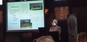 Török Istvánné a Hagyományok Háza Hálózati Konferenciáján