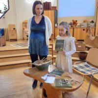 Vidák Anna és kislánya Hanna