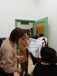 Kárpát-medencei Népi Textilfesztivál_zsűrizés előkészítése_önkéntes munka_1