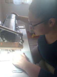 Sütő Brigitta hímző kész anyag összeállítás a koronavírus idején