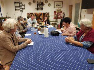 A Múzem Barátikör gyűlése